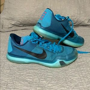 Men's Nike Kobe X Blue Lagoon
